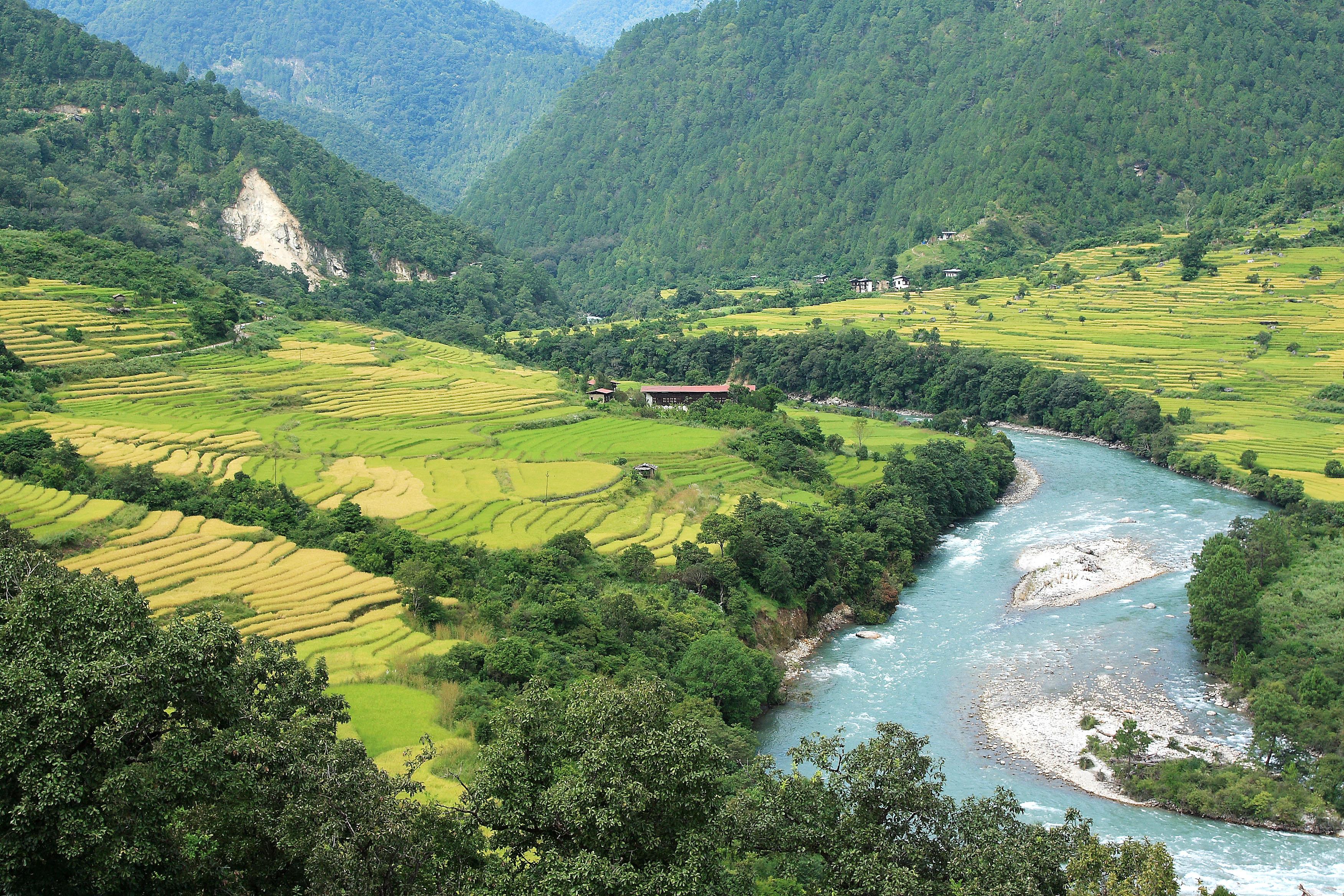 Welcome To Como S Brand New Uma Punakha Resort In Bhutan Welcome To Ampersand S Travel Blog