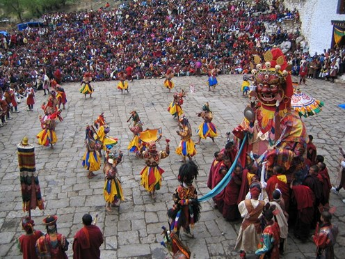 Festivals in March: Paro Tsechu in Bhutan, the Jaipur Elephant Festival & Holi Festival in India
