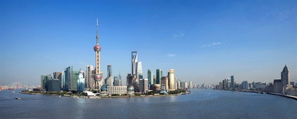 CHINA - Shanghai skyline