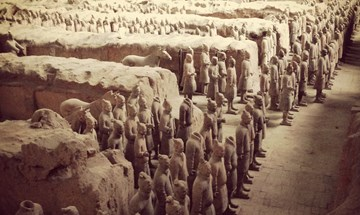 CHINA - Xian, terracotta army