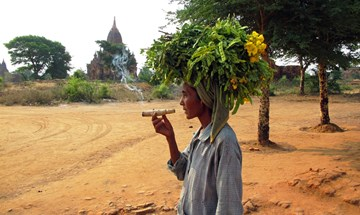 BURMA Bagan Burmese Local