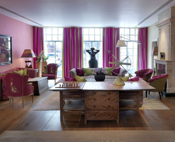 Soho Hotel London UK 6