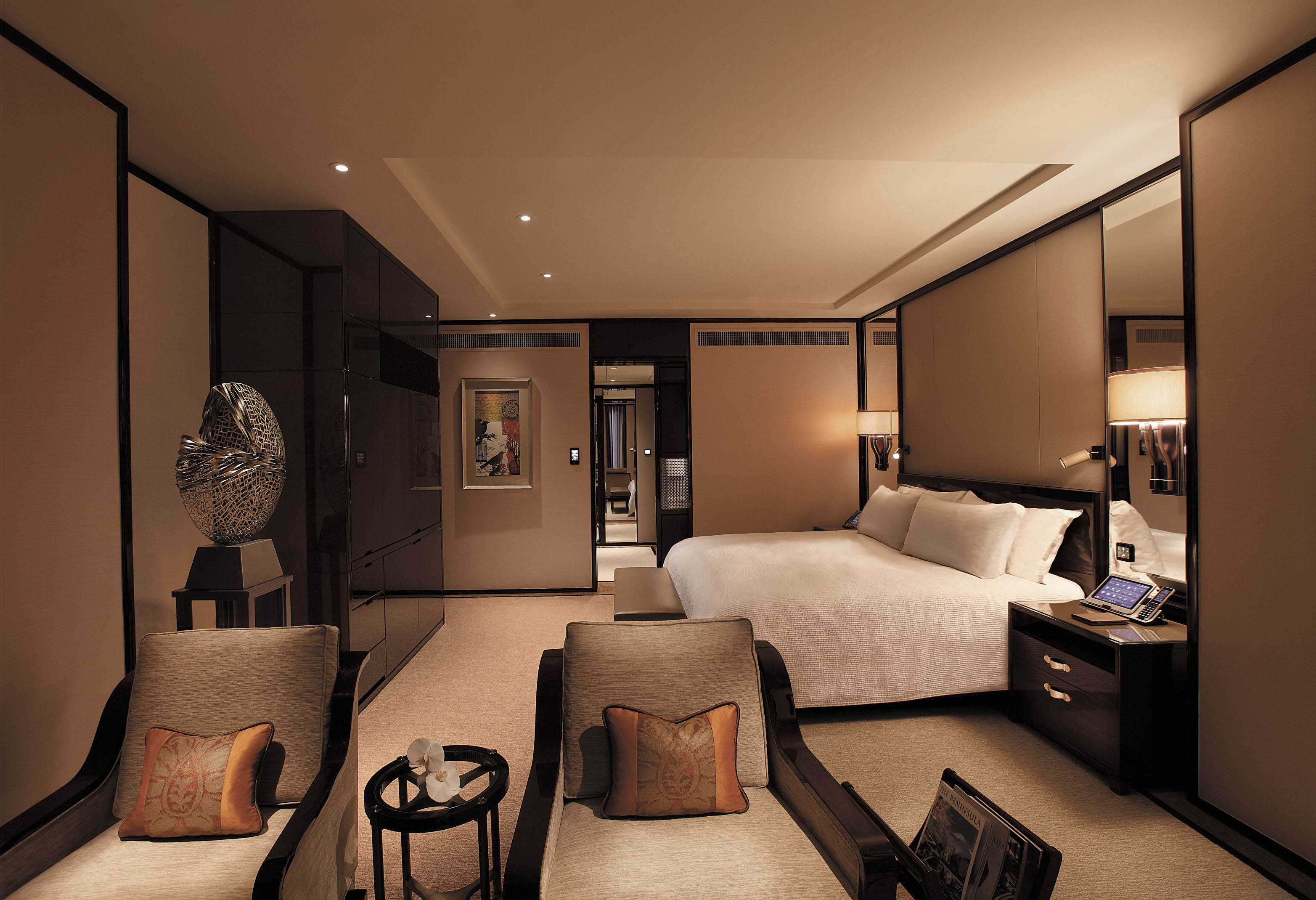 stay in the the peninsula hong kong in hong kong china ampersand travel. Black Bedroom Furniture Sets. Home Design Ideas