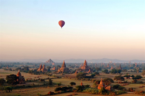 BURMA Balloons Over Bagan 1