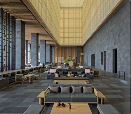 Top 5 city sanctuaries the brand new aman tokyo other for Top design hotels tokyo