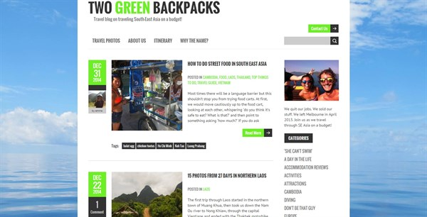 Twogreenbackpacks