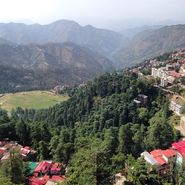 View Over Shimla Annadale