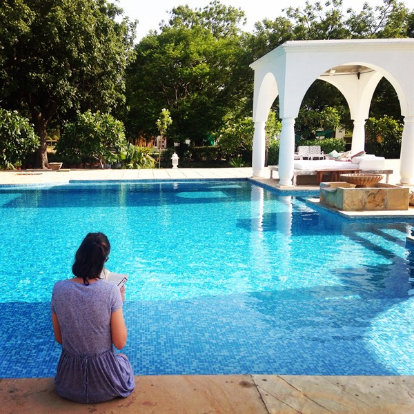 Blog Pool At Shahpura Bagh
