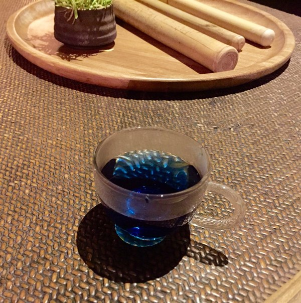 Blue Tea At Amanfayun