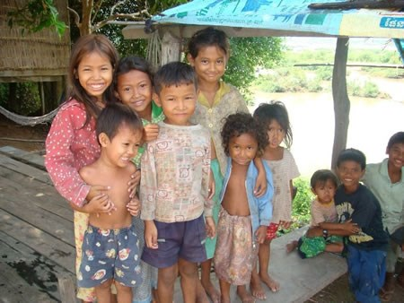 Luxury holidays to kratie cambodia luxury tours of for Charity motors on grand river