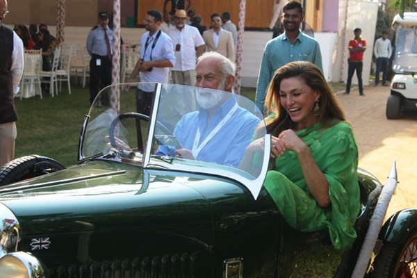 Prince Michael And Princess Sheikha