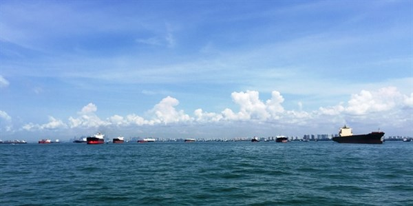 10 View Of Singapore Harbour 1