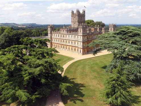 At Home at Highclere: Dining at the real Downton Abbey