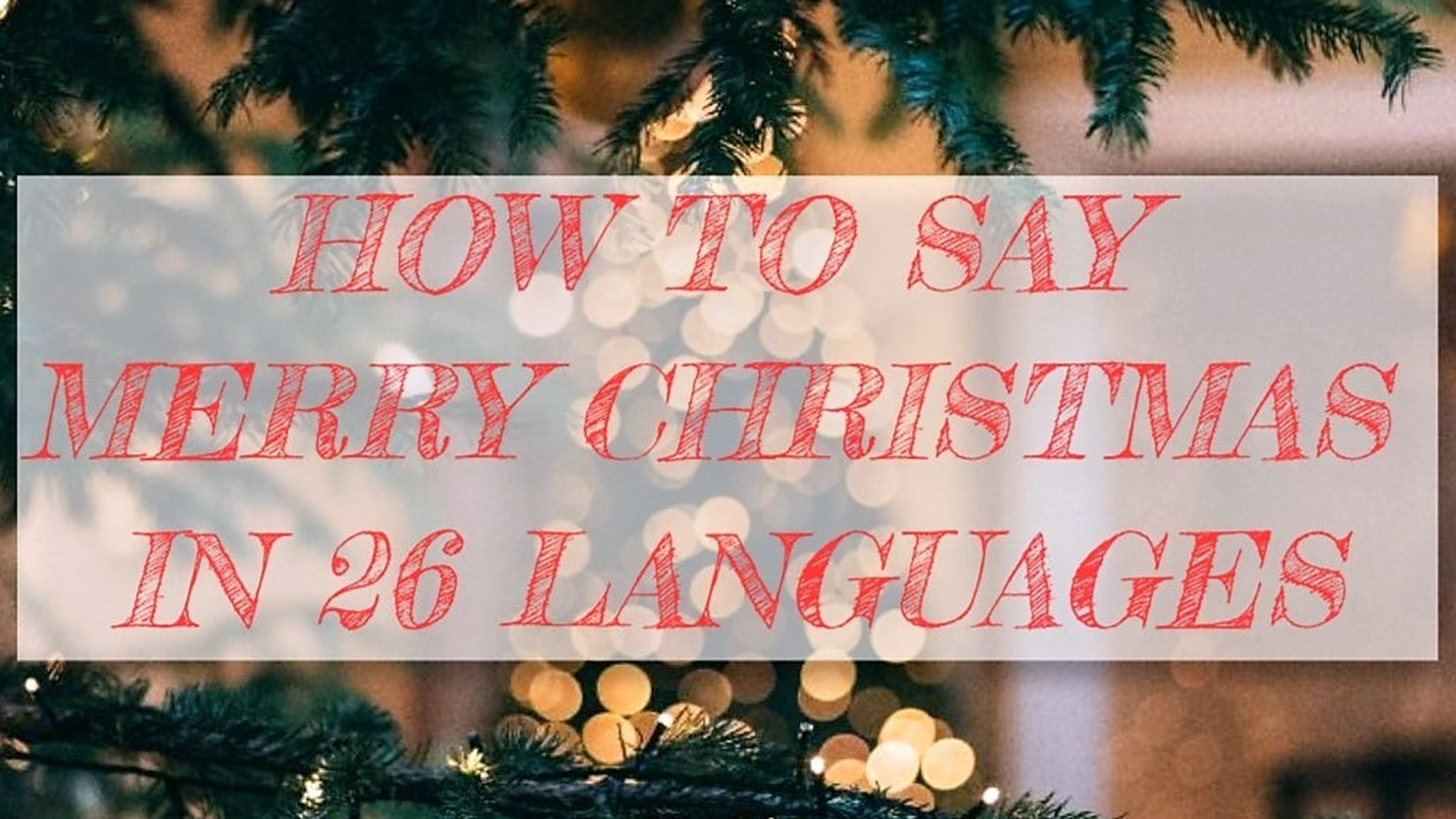 How To Spell Merry Christmas.Merry Christmas Welcome To Ampersand S Travel Blog